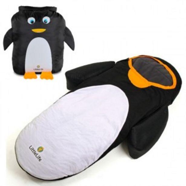 Oferta de Saco de dormir pingüino convertible en mochila por 59,96€