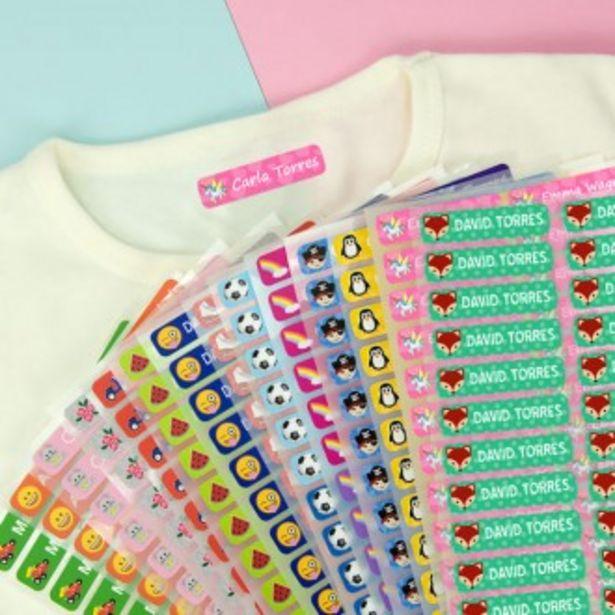 Oferta de Etiquetas pequeñas para ropa por 9,95€