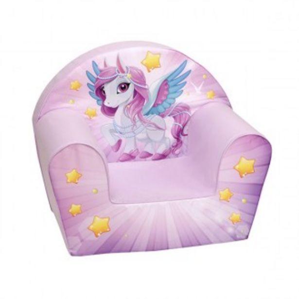 Oferta de Sofá estampado unicornio lili por 34,97€