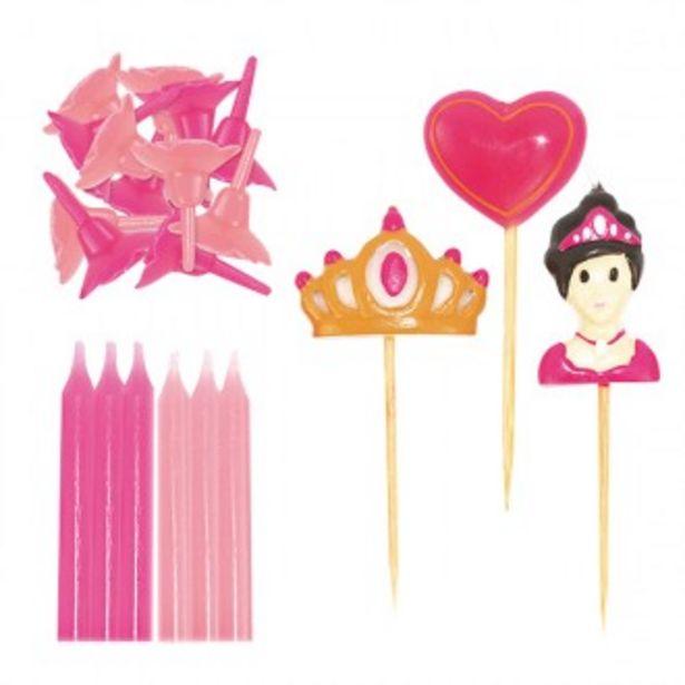 Oferta de Velas princesas por 4,5€