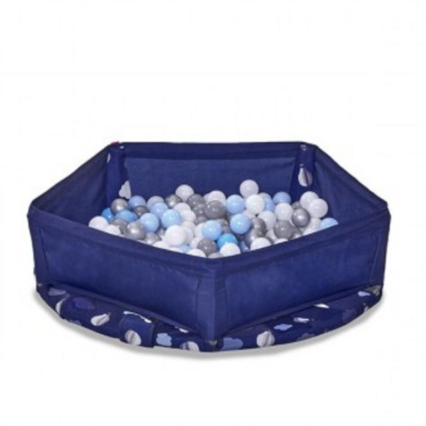 Oferta de Trampolín 3 en 1 azul por 129,99€