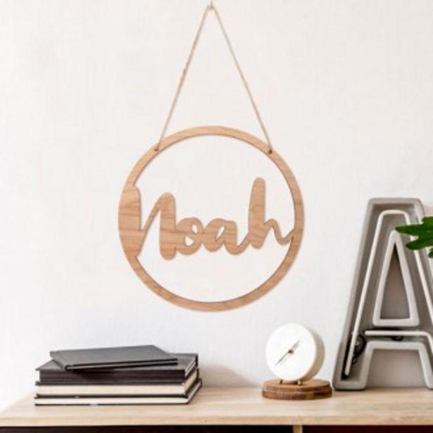 Oferta de Nombres en madera para decoración grandes por 24,95€