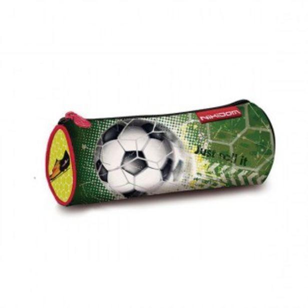 Oferta de Estuche roller plumier fútbol por 10,36€