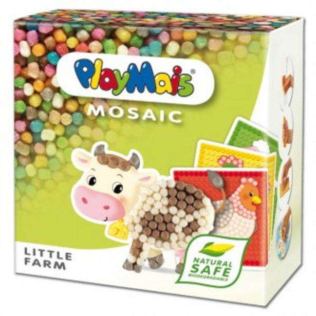 Oferta de Playmais mosaic little farm por 14,96€