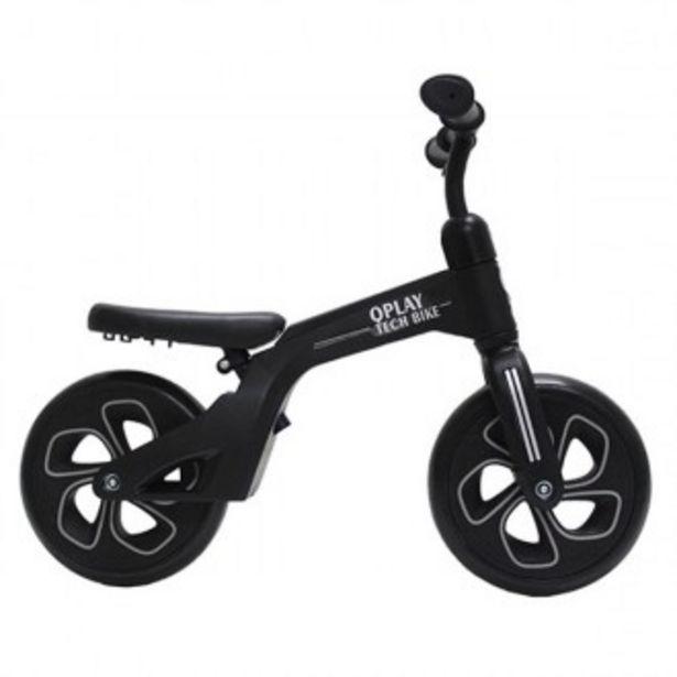 Oferta de Tech balance bike negra por 49,99€