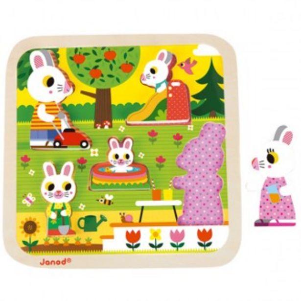 Oferta de Puzzle chunky baby conejitos por 11,95€
