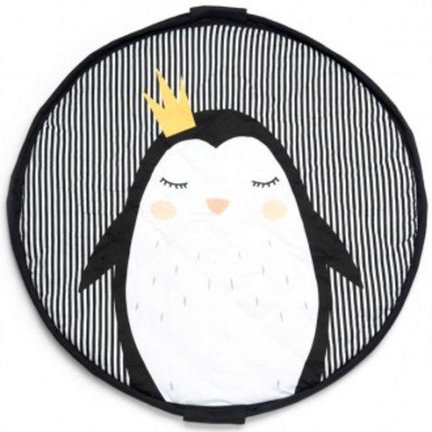 Oferta de Saco guardajuguetes manta de juegos y bolsa 3 en 1 pinguin por 49,07€