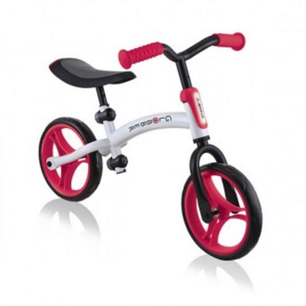 Oferta de Bicicleta go bike blanco y rojo por 69,95€