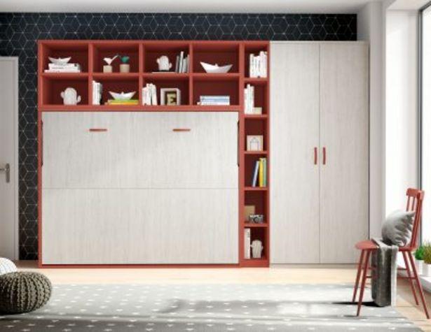 Oferta de Cama 190 x 135 abatible horizontal Premium de fondo 56 por 1090€