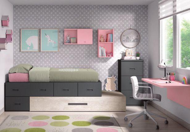 Oferta de Dormitorio juvenil completo por 1337,6€