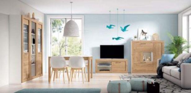 Oferta de Mueble de salón Blanco mate naturale por 1507,12€