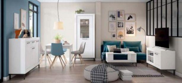 Oferta de Mueble de salón blanco mate por 1093,68€