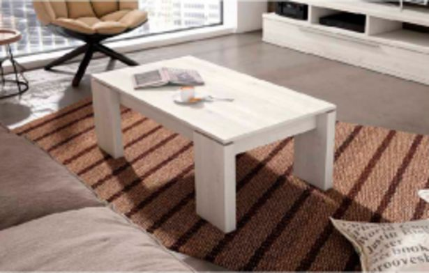 Oferta de Mesa Centro elevable modelo soul Blanco nordic por 159€