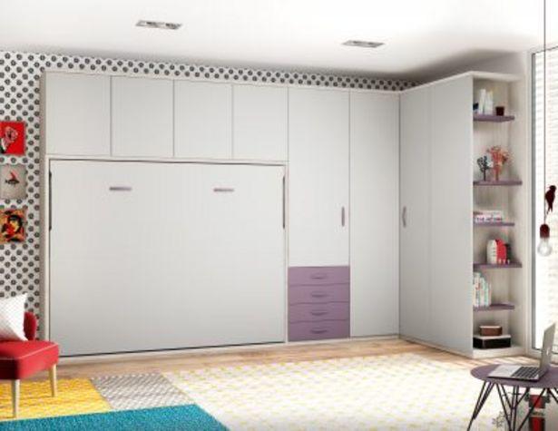 Oferta de Cama 190 x 150 abatible horizontal Premium de fondo 56 por 1100€