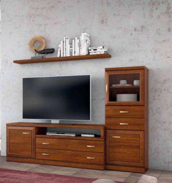 Oferta de Mueble de salón nogal ideal espacio reducido por 840€