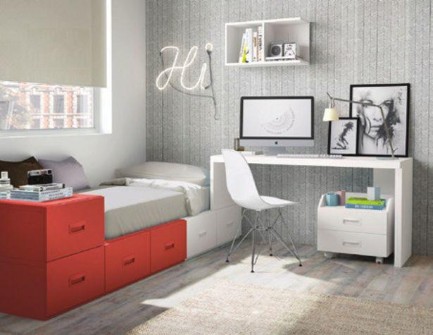 Oferta de Dormitorio juvenil completo por 1061,5€