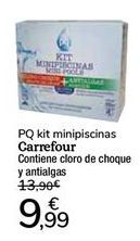Oferta de PQ kit minipiscinas Carrefour por 9,99€