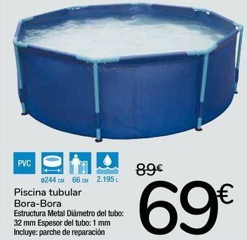 Oferta de Piscina tubular Bora-Bora por 69€