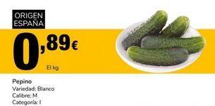 Oferta de Pepinos por 0,89€