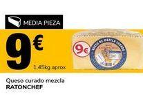 Oferta de Queso curado mezcla RATONCHEF por 9€