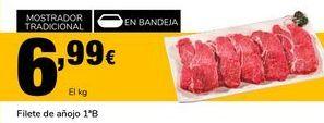 Oferta de Filetes de añojo por 6,99€