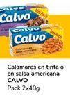 Oferta de Calamares en tinta o en salsa americana CALVO por 1€