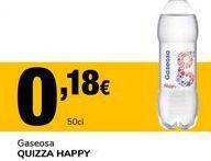 Oferta de Gaseosa QUIZZA HAPPY por 0,18€