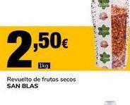 Oferta de Revueltos de frutos secos  SAN BLAS por 2,5€