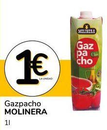 Oferta de Gazpacho molinera por 1€