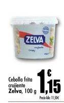 Oferta de Cebolla frita crujiente Zelva, 100 g por 1,15€