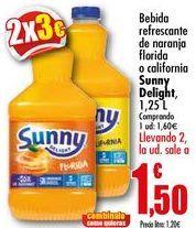 Oferta de Bebida refrescante de naranja florida o california Sunny Delight, 1,25 L por 1,6€