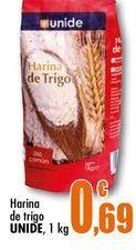 Oferta de Harina de trigo Unide, 1 kg por 0,69€