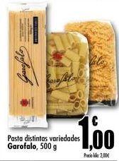 Oferta de Pasta distintas variedaes Garofalo, 500 g por 1€