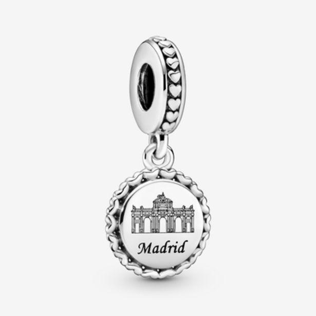 Oferta de Charm colgante en plata de ley Madrid por 39€