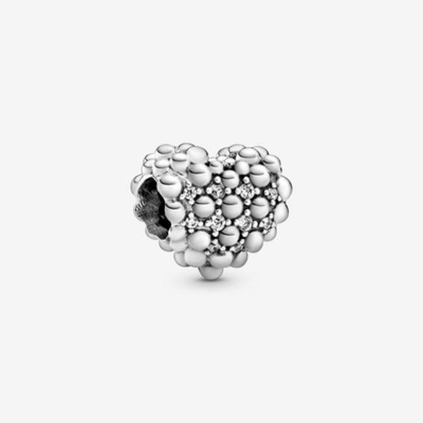Oferta de Charm Corazón Brillante de Esferas por 49€