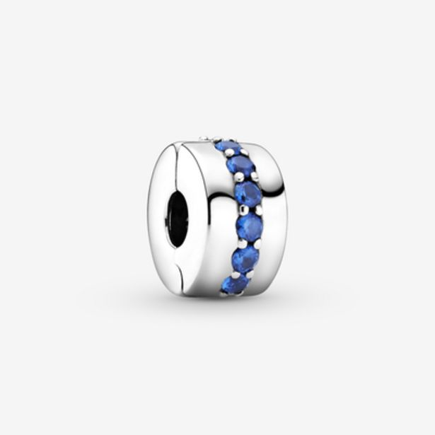 Oferta de Charm de Clip Azul Brillante por 39€