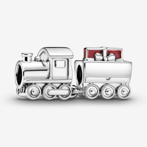 Oferta de Charm en plata de ley Tren de Navidad por 69€