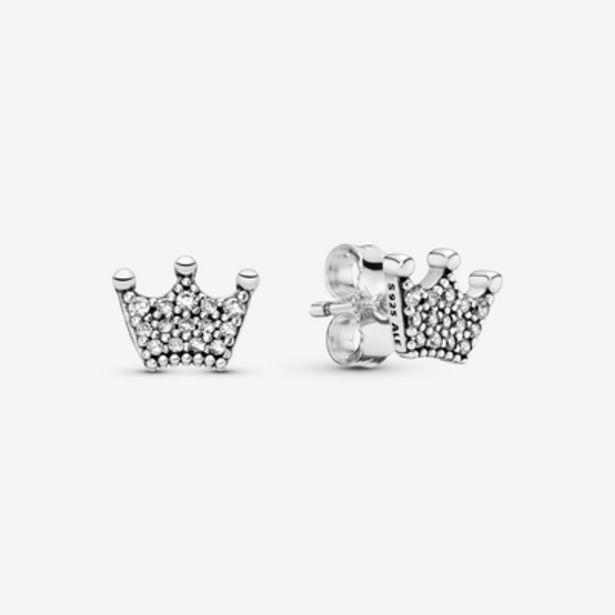 Oferta de Pendientes en plata de ley Coronas Encantadas por 49€