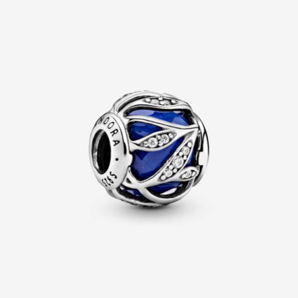Oferta de Charm en plata de ley Naturaleza Radiante Azul por 69€