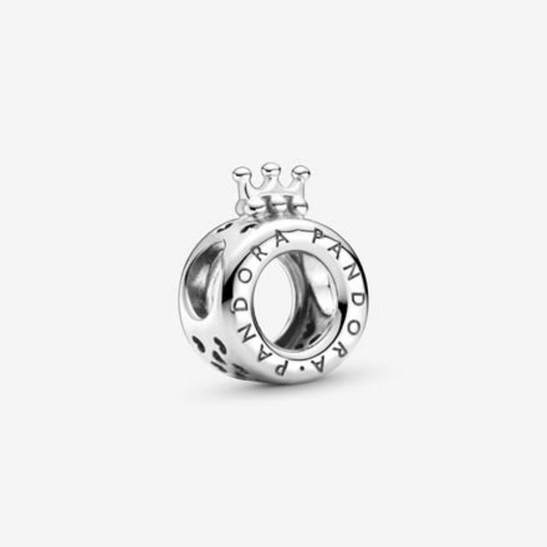 Oferta de Charm Logotipo y Corona de Pandora por 39€