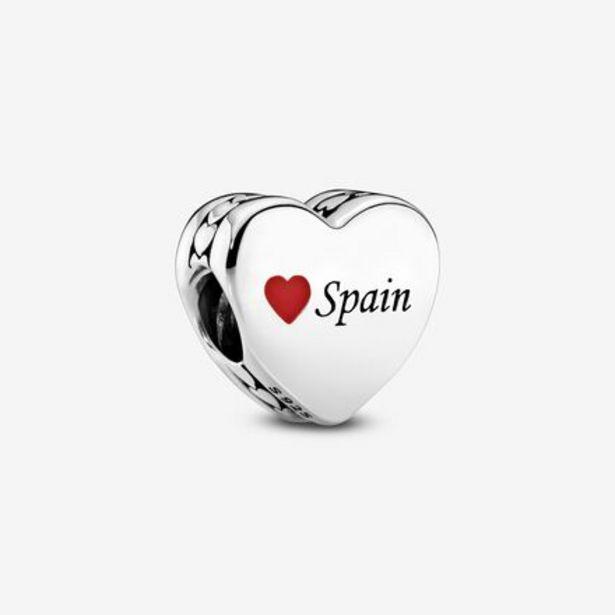 Oferta de Charm en plata de ley Corazón España por 39€