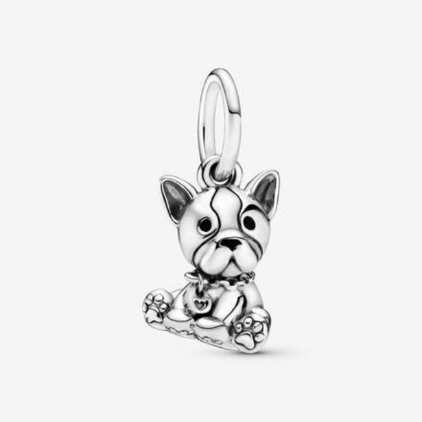 Oferta de Charm colgante en plata de ley Bulldog por 39€