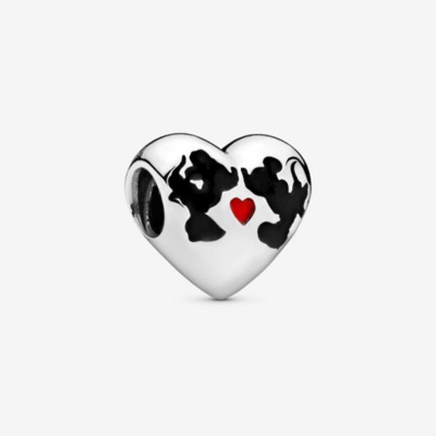 Oferta de Charm en plata de ley Beso de Mickey & Minnie por 49€