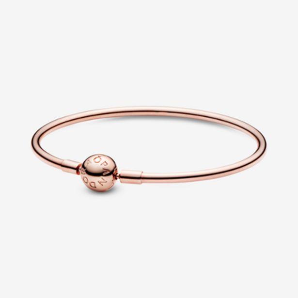 Oferta de Pulsera Moments rídida en Pandora Rose para charms por 149€