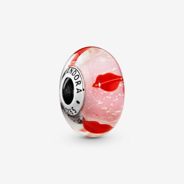 Oferta de Charm cristal de Murano Besos Alrededor del Cristal por 45€