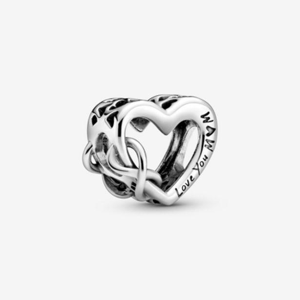 Oferta de Charm Corazón Infinito Te Quiero Mamá por 19€