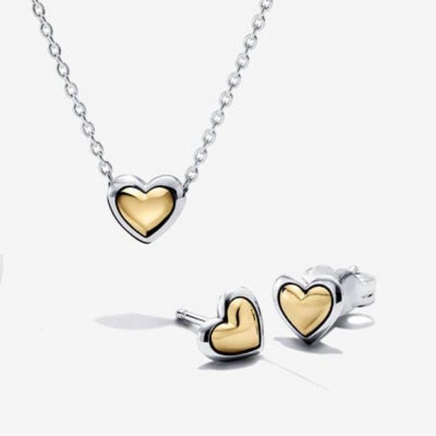 Oferta de Conjunto de Regalo Corazón de Centro Dorado por 178€