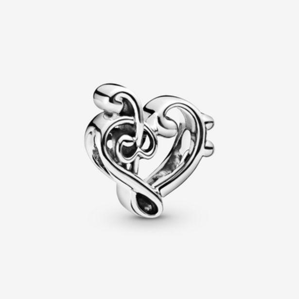 Oferta de Charm Corazón clave de Sol por 29€