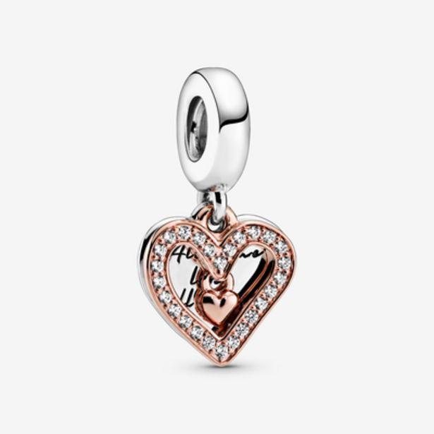 Oferta de Charm Colgante Boceto de Corazón Brillante por 59€