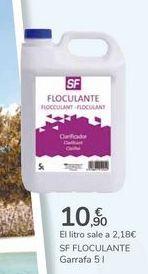 Oferta de SF FLOCULANTE  por 10,9€